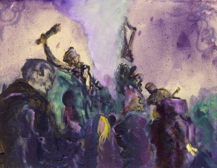 Blair McLaughlin Study for Le Triomphe de la Republique, 2019 Oil on canvas 35 x 45 cm