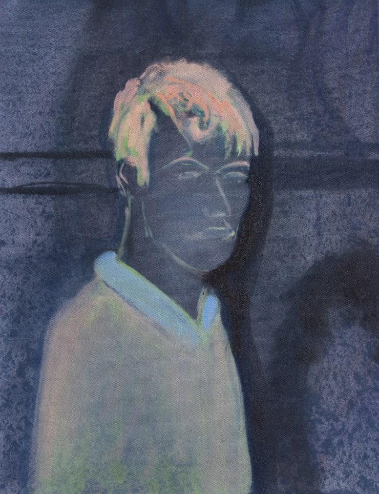 Blair McLaughlin Figure Study, 2019 Oil on canvas 45 x 35 cm