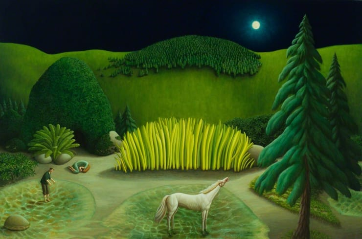 Helen Flockhart Shallows, 2017 Oil on linen 102 × 152 × 2 cm