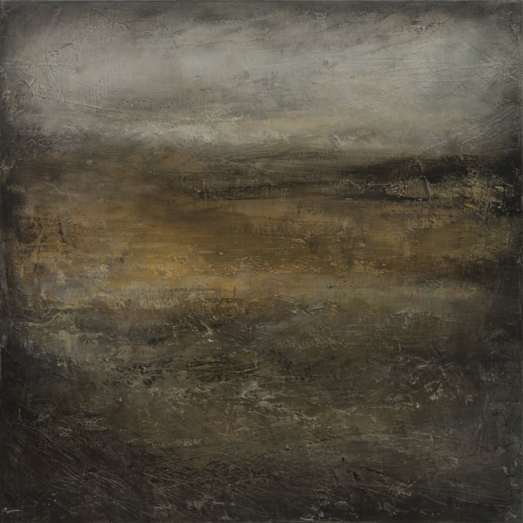 Xanthippe Tsalimi At a Distance, 2018 Oil on Canvas 20 x 20 in 50.8 x 50.8 cm