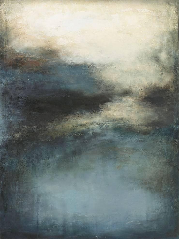 Xanthippe Tsalimi The Eclipse, 2018 Oil on Canvas 35 3/8 x 47 1/4 in 90 x 120 cm