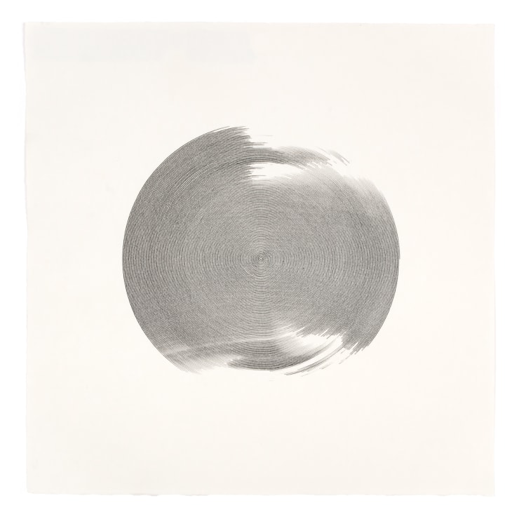 Ben Snell G53 Dorna #004, 2020 Ink on Paper 14 1/8 x 14 1/8 in 35.9 x 35.9 cm