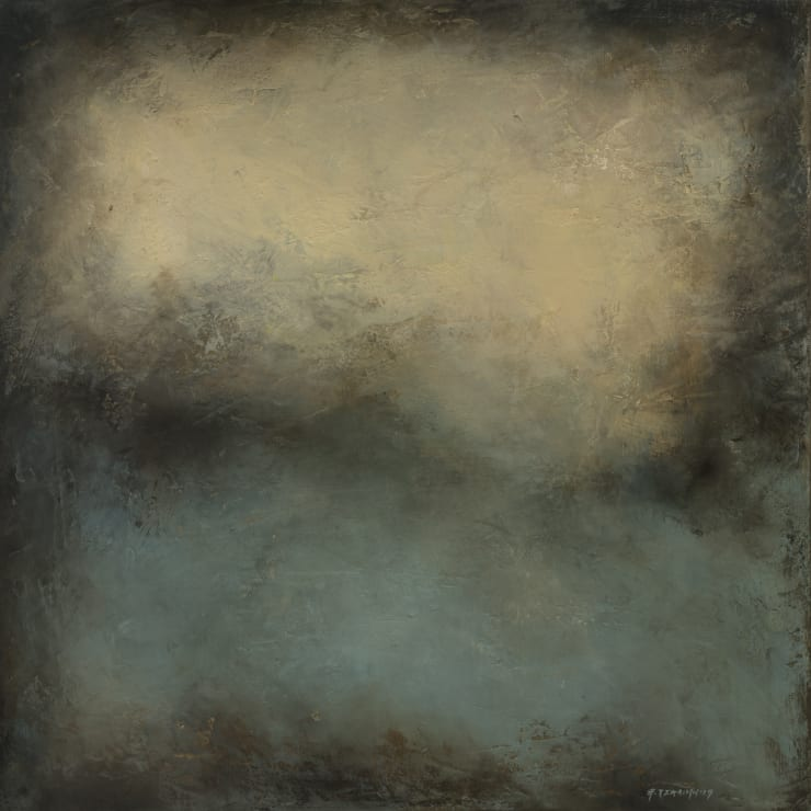 Xanthippe Tsalimi Deep Breath II, 2019 Oil on Canvas 20 x 20 in 50.8 x 50.8 cm