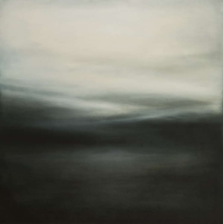 Xanthippe Tsalimi Monochrome II, 2018 Oil on Canvas 40 x 40 in 101.6 x 101.6 cm