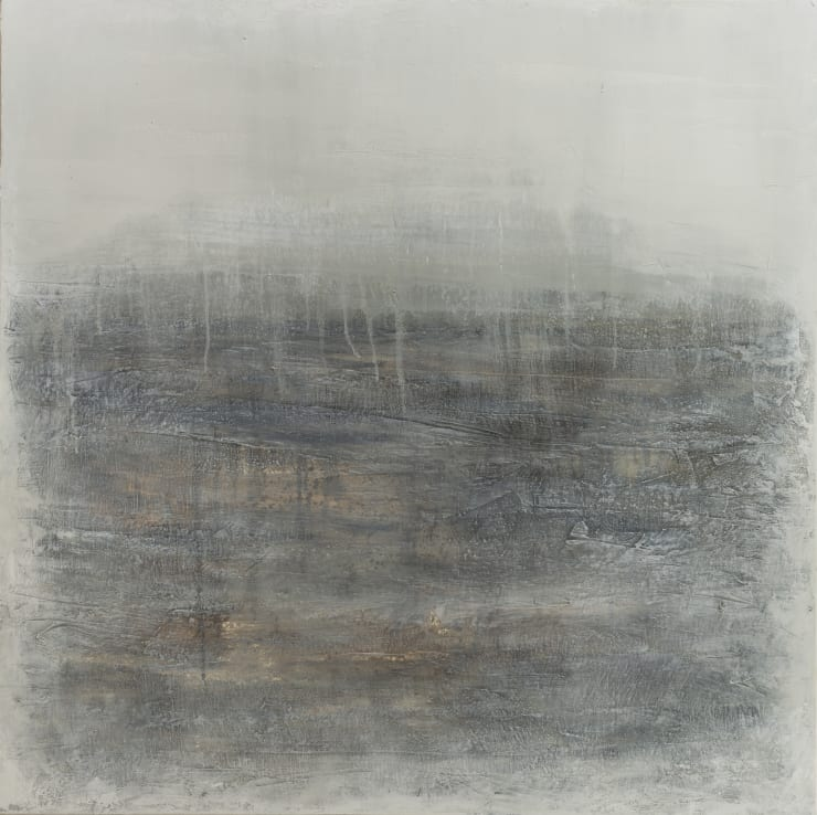 Xanthippe Tsalimi Misty Moment, 2018 Oil on Canvas 30 x 30 in 76.2 x 76.2 cm
