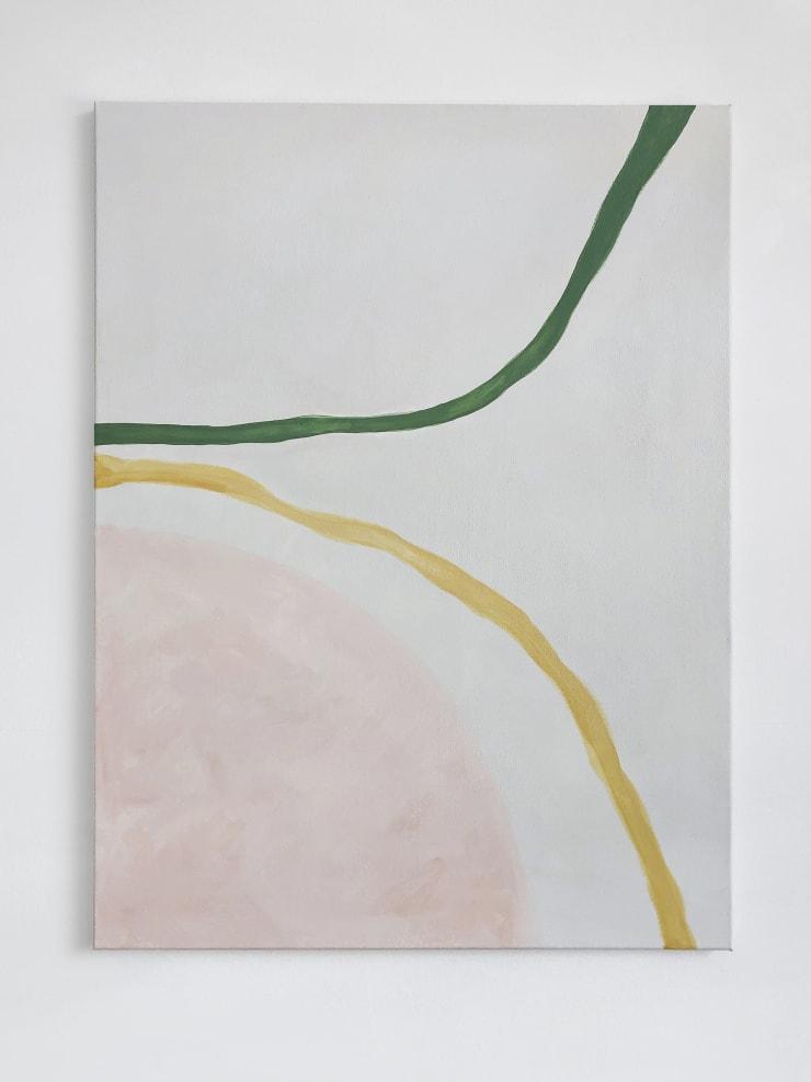 Lithe, 2019 Acrylic on canvas 80 x 60