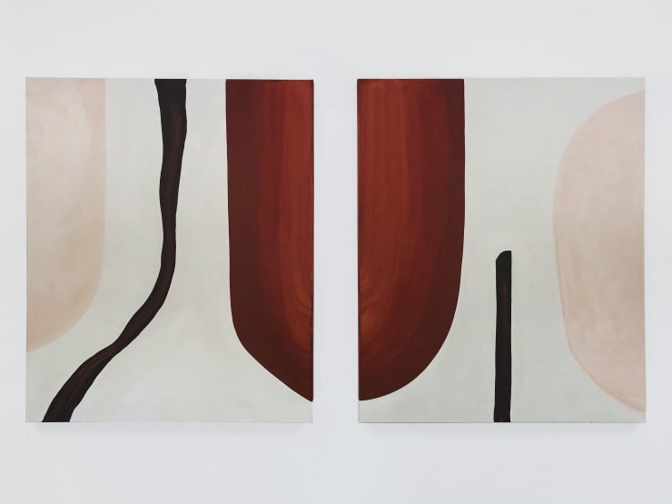 Untitled , 2019 Acylic on canvas 120 x 100