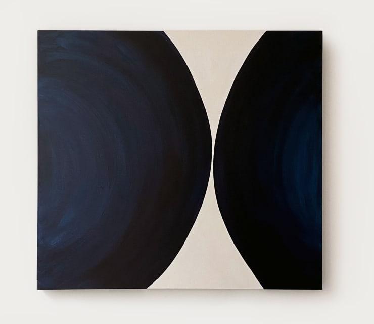 A Beat Apart , 2020 Acrylic on canvas 120 x 110