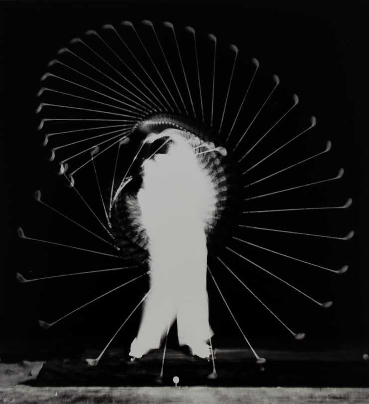 Harold Edgerton (1903-1990), Densmore Shute Bends The Shaft, 1938