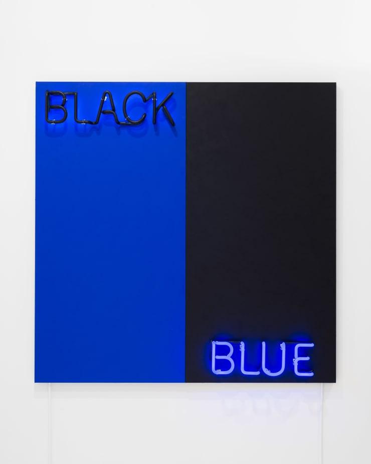 Deborah Kass, Black and Blue, 2015