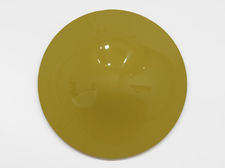 Vincent Szarek, Yellow/green no. 1 UFO, 2019