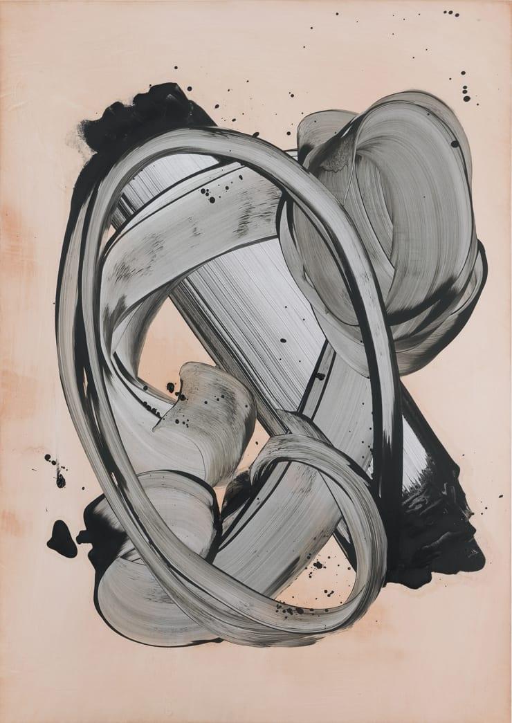 Stacie McCormick Caro Sel, 2019 Oil on paper 59.4 x 42 cm