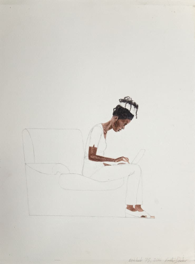 Kimathi Donkor, Notebook XIV, 2014