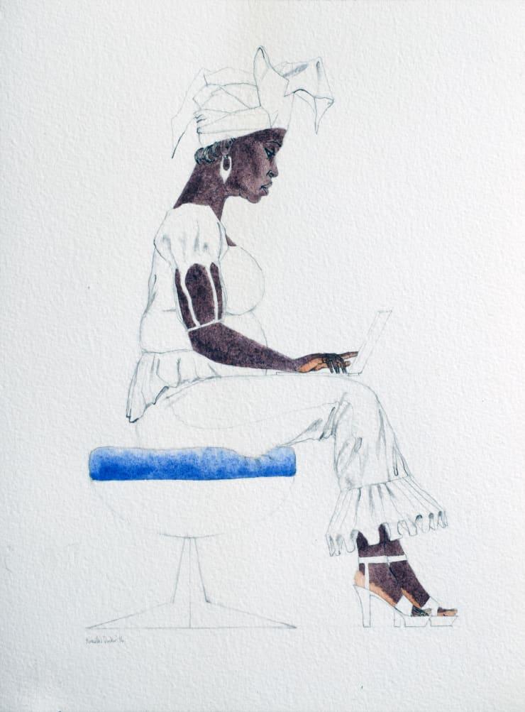 Kimathi Donkor, Notebook V, 2014