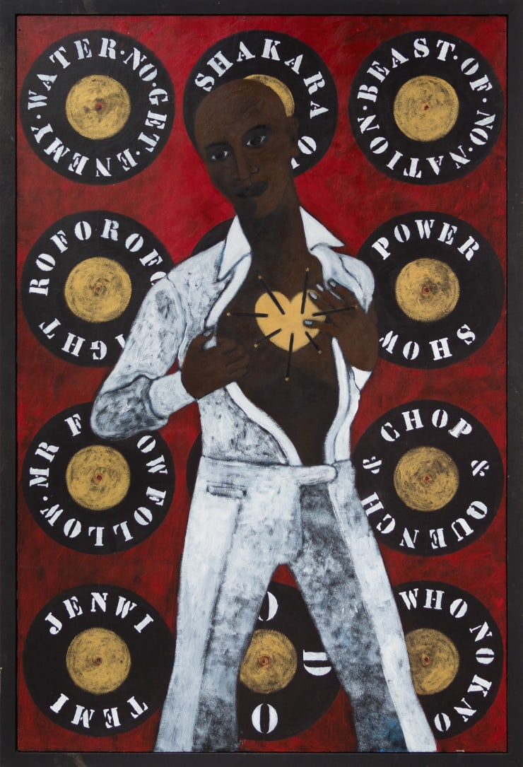 Abe Odedina, Heart of gold, 2019