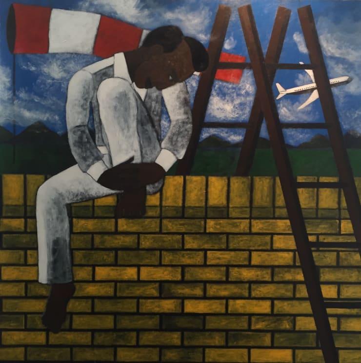 Abe Odedina, The Wall , 2017