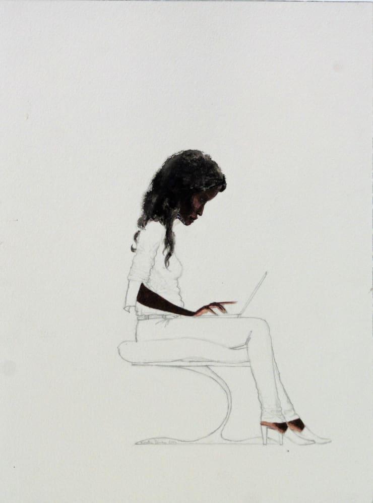 Kimathi Donkor, Notebook III, 2014