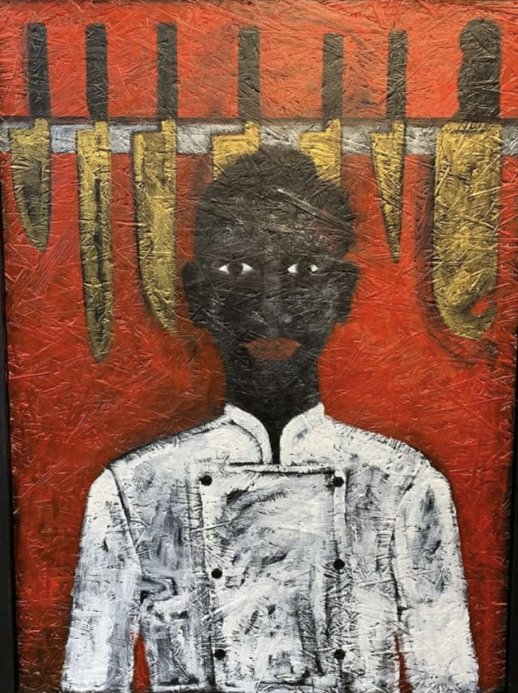 Abe Odedina, Now we're cooking with gas , 2019