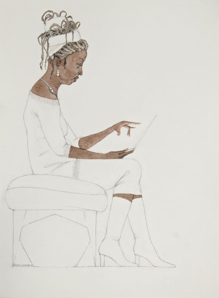 Kimathi Donkor, Notebook XXIII, 2018