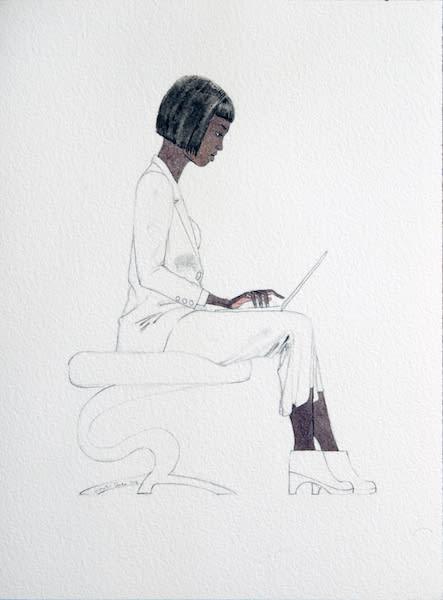 Kimathi Donkor, Notebook IX, 2013