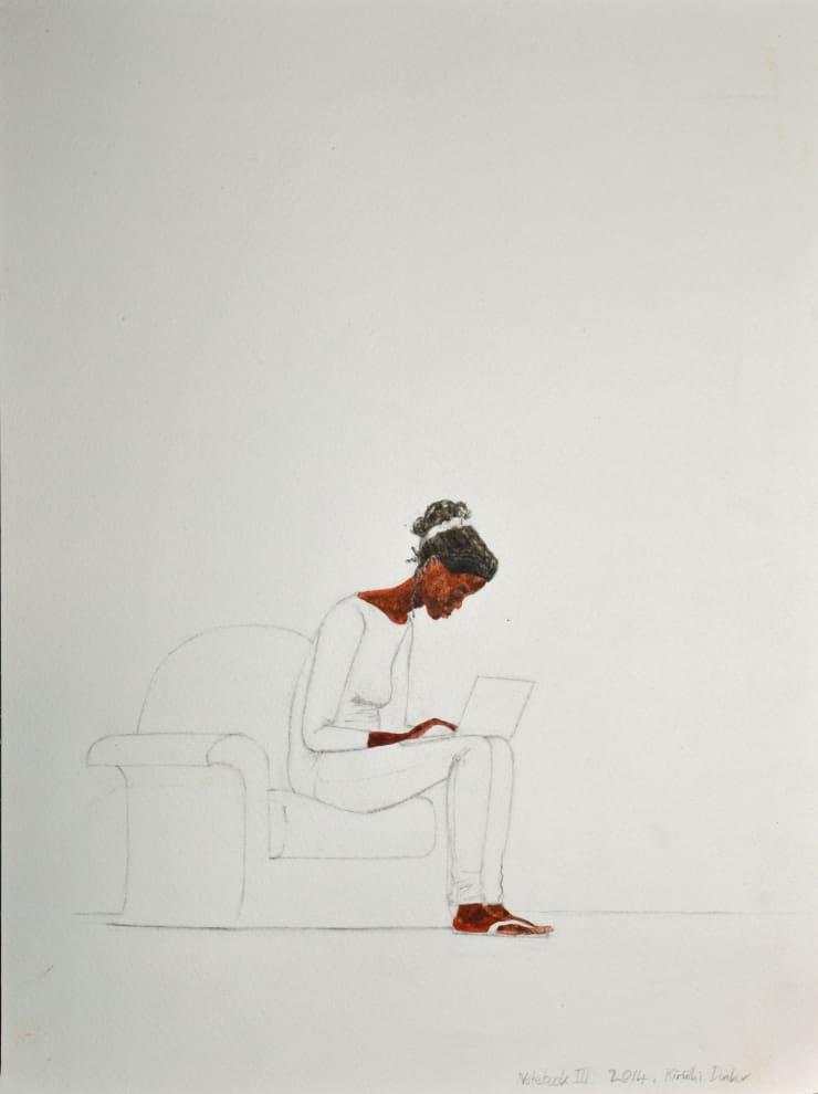 Kimathi Donkor, Notebook IIIa, 2014