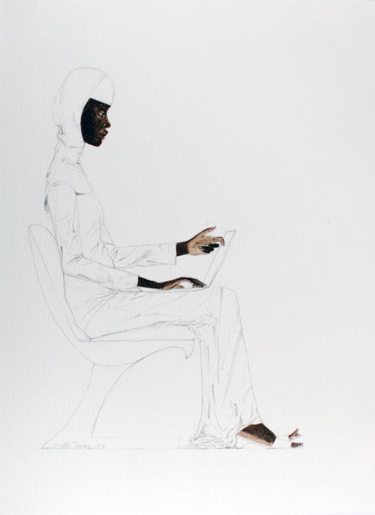 Kimathi Donkor, Notebook X , 2014