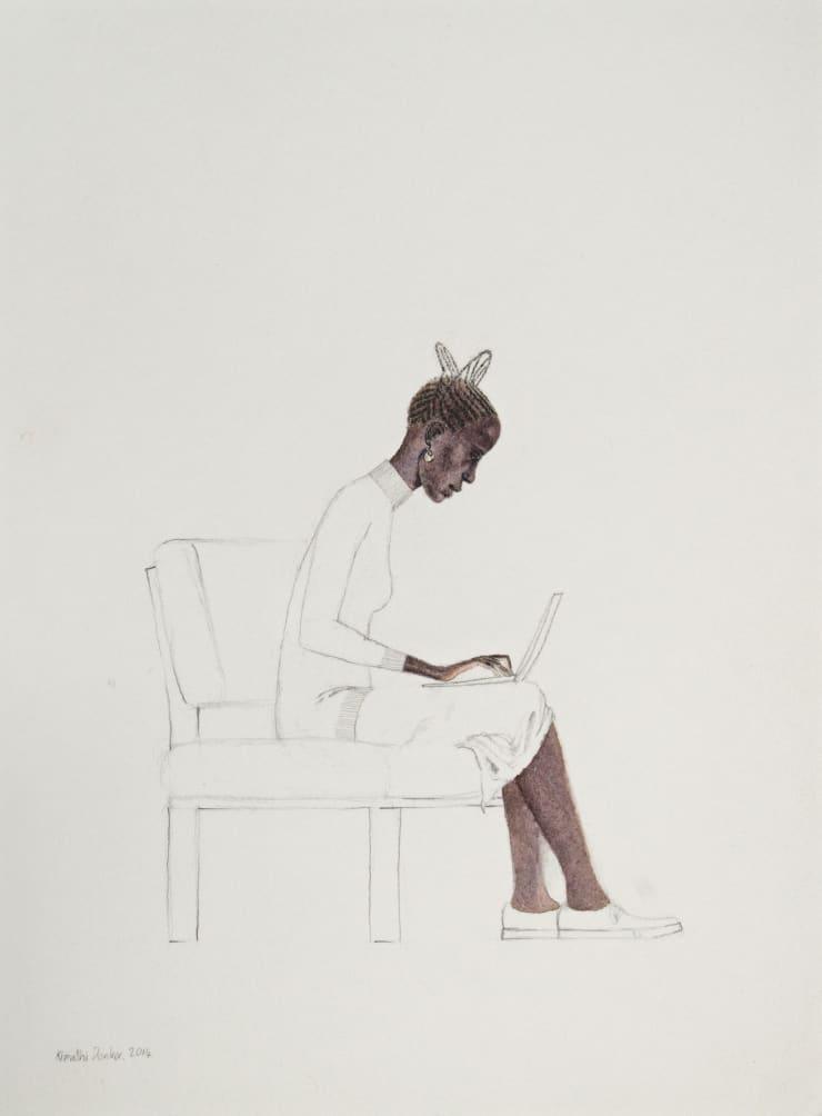 Kimathi Donkor, Notebook XIII, 2014