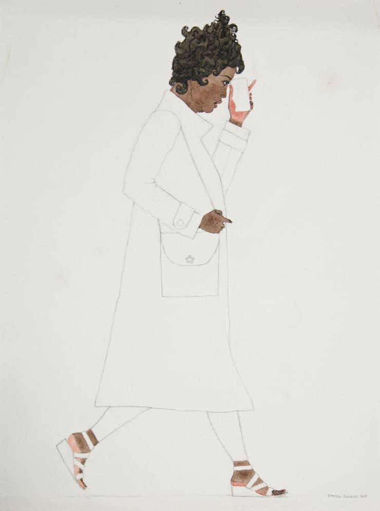 Kimathi Donkor, Notebook XXI, 2018