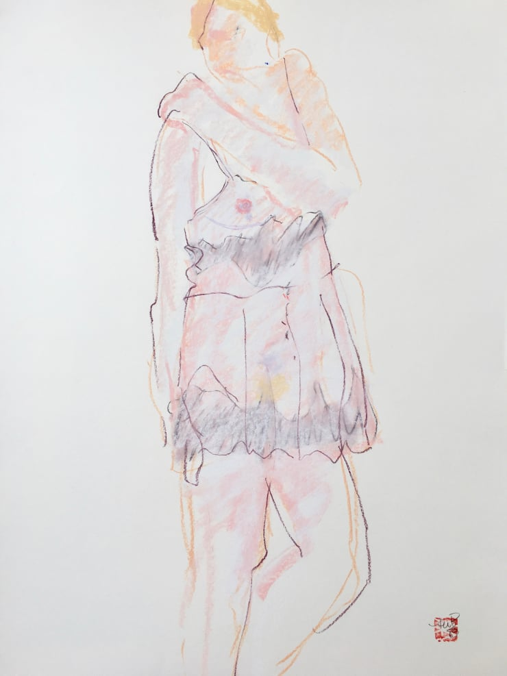 Figurative: Pastel Drawings on Paper