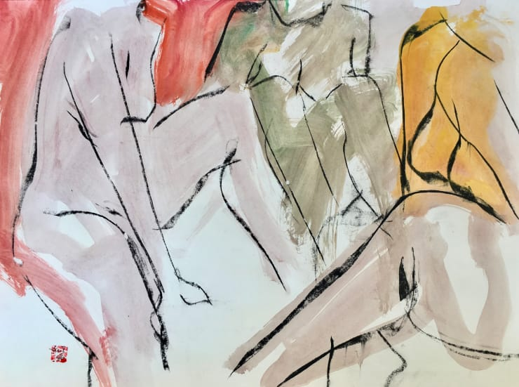 Figurative: Abstract on Paper