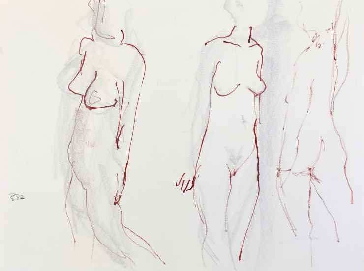 Figurative: Drawings on Paper