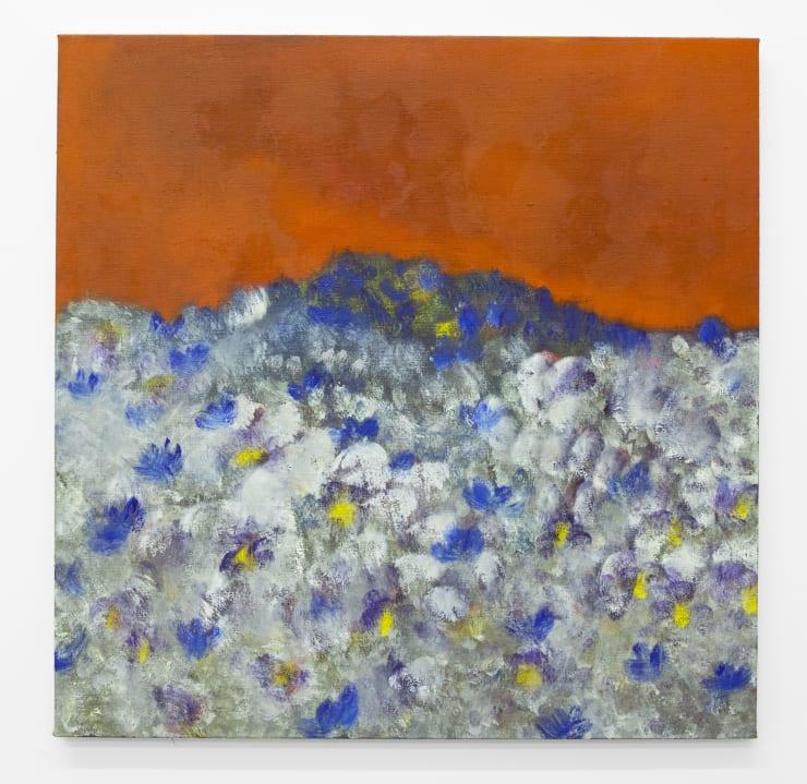 Diane Chappalley Monte Verita, 2019 Oil on flax 90 x 90 cm 35 3/8 x 35 3/8 in