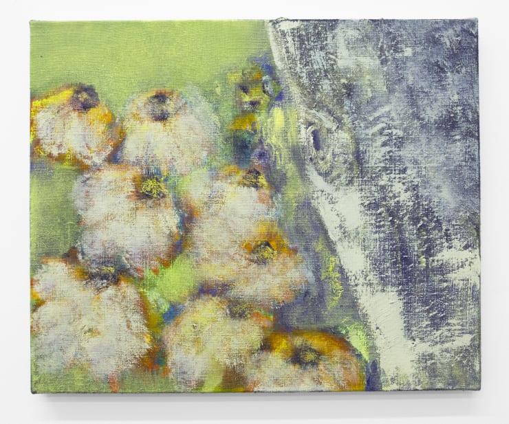 Diane Chappalley Murmur, 2020 Oil on flax 45 x 55 cm 17 3/4 x 21 5/8 in
