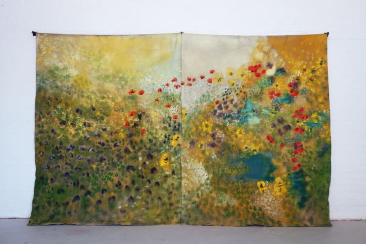 Diane Chappalley Vitalistic Fantasies II, 2019 Oil on Linen 230 x 380 cm 149 5/8 x 92 1/2 in