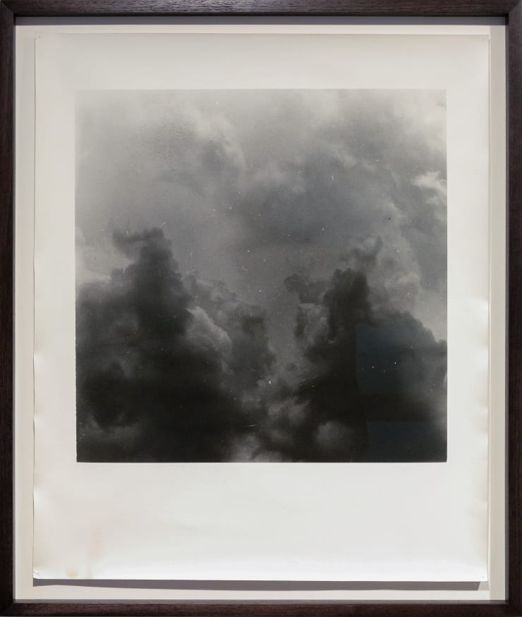 Anthony Hodgkinson When Light Leaves, The Dark Sees I, 2018 Silver gelatin handprint on fibre-based paper 60.9 x 50.8 cm 24 x 20 in