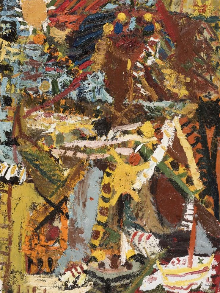 James Drinkwater Sailor, 2019 Oil on canvas 102 x 76.5 cm