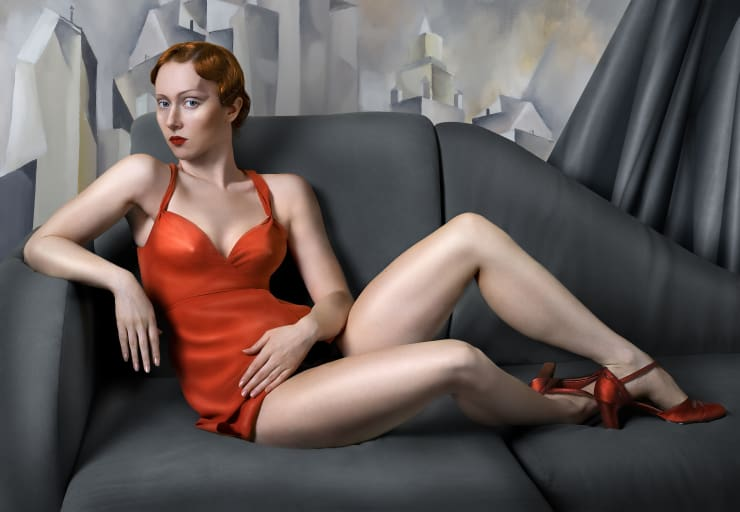 Katerina Belkina For Lempicka, 2007 Archival Pigment Print 30 x 43 cm 11 3/4 x 16 7/8 in Edition of 15 plus 2 artist's proofs Series: Paint