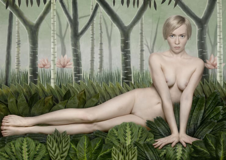 Katerina Belkina For Rousseau, 2006 Archival Pigment Print 92 x 130 cm 36 1/4 x 51 1/8 in Edition of 8 plus 2 artist's proofs Series: Paint