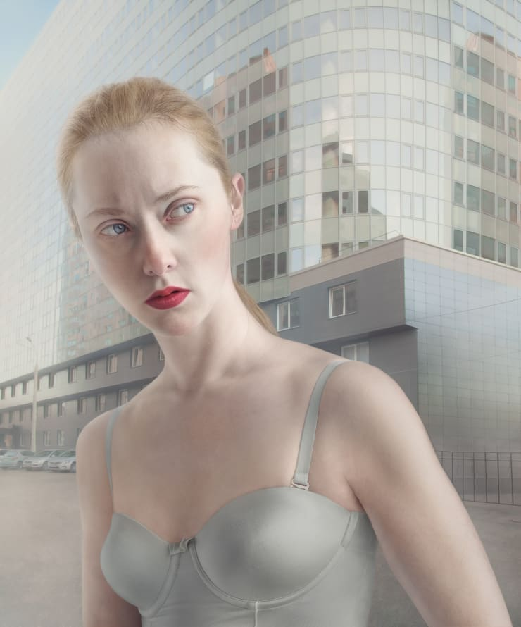 Katerina Belkina  Revolution Street, 2014  Archival Pigment Print  120 x 100 cm  47 1/4 x 39 3/8 in  Edition of 6 plus 2 artist's proofs  Series: Light and Heavy