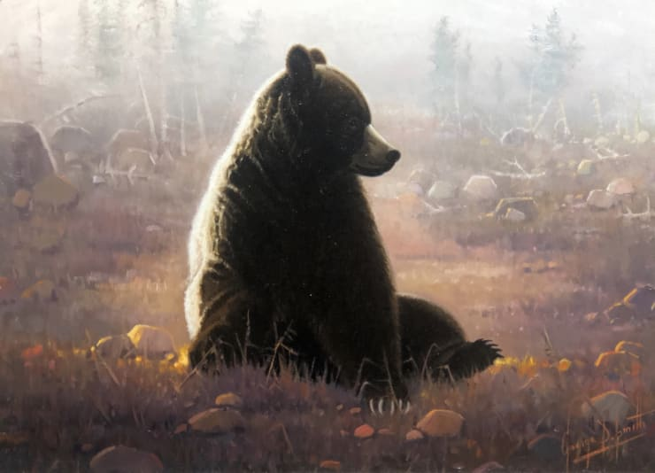 George D. Smith, Grizzley - Early Morning - Cub Creek Meadows