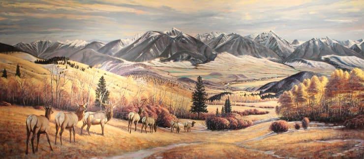 Larry Zabel, October at Bullis Creek