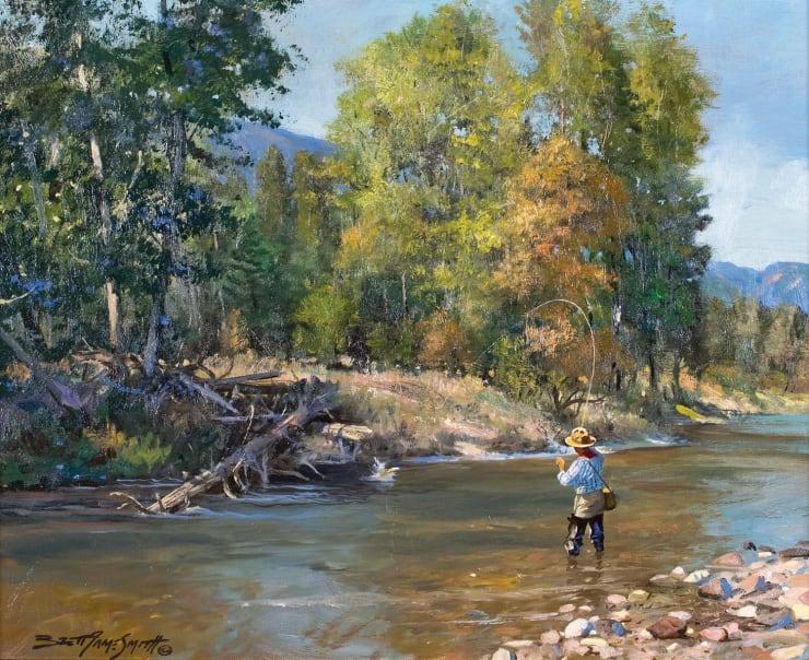 Brett J. Smith, Fishing Side Chanel
