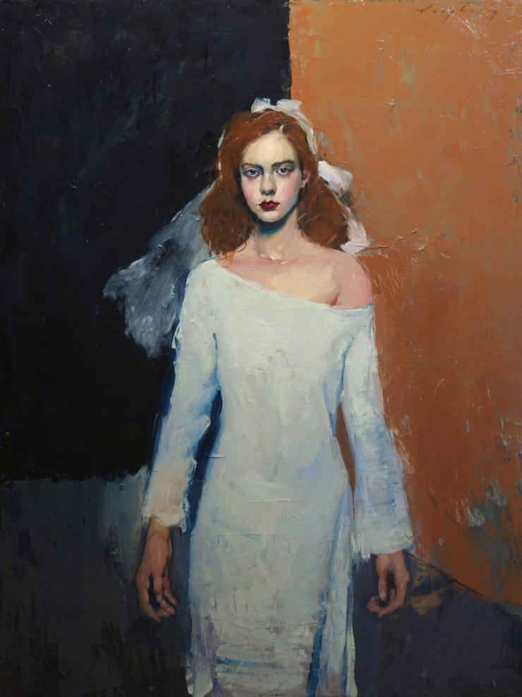 Malcolm Liepke Magdalena, 2019 Oil on canvas 121.9 x 91.4 cm 48 x 36 in