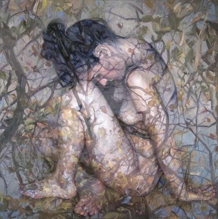 Alyssa Monks Homecoming , 2017 Oil on linen 81 x 81 cm 32 x 32 in