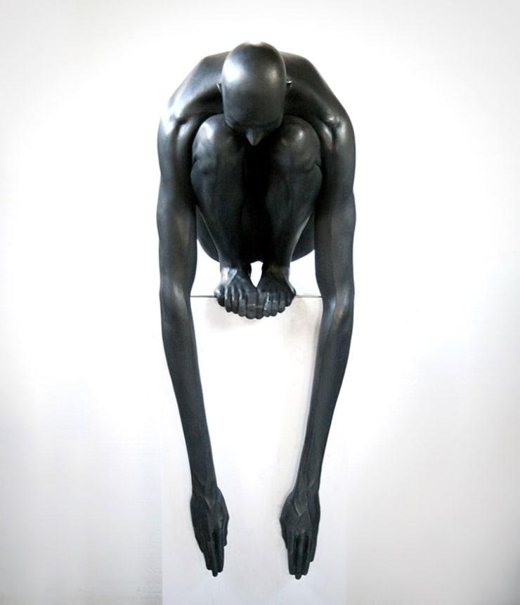 Emil Alzamora Abyss, 2008 (Cast 2018) Bronze 127 x 76 x 45.7 cm 50 x 30 x 18 in Edition of 5 plus 2 artist's proofs