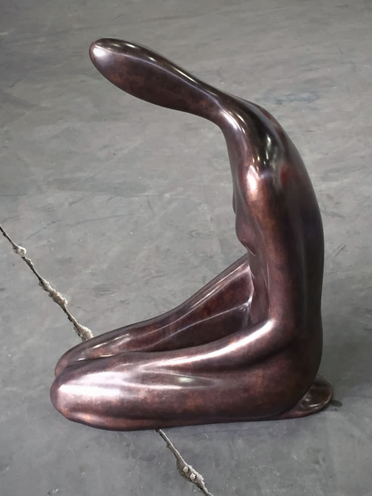 Emil Alzamora Gullfoss, 2015 Bronze 97 x 38 x 71 cm 38 x 15 x 28 in Edition of 3 plus 2 artist's proofs