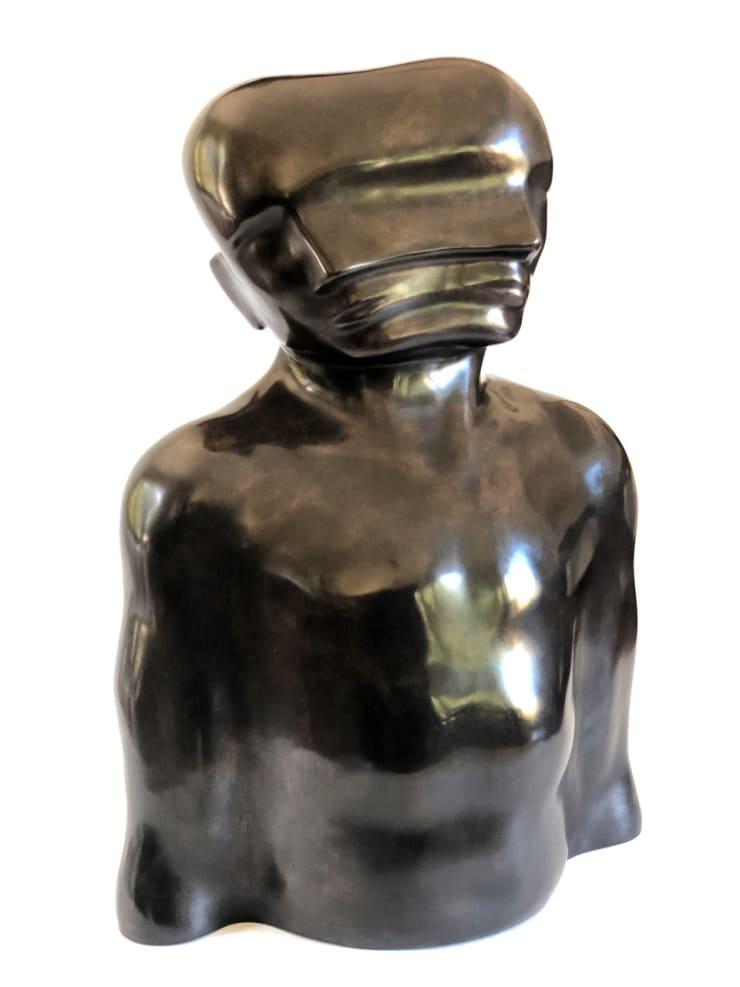 Emil Alzamora Shift, 2006 / cast 2019 Bronze 71.1 x 53.3 x 33 cm 28 x 21 x 13 in Edition 1 of 3 (Ed 3 + 2 AP)