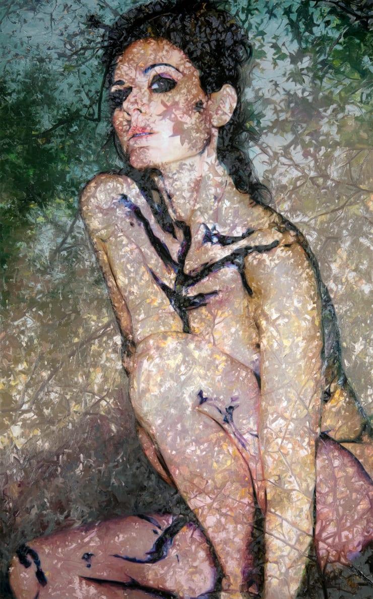 Alyssa Monks Kali, 2018 Oil on linen 147 x 91 cm 58 x 36 in