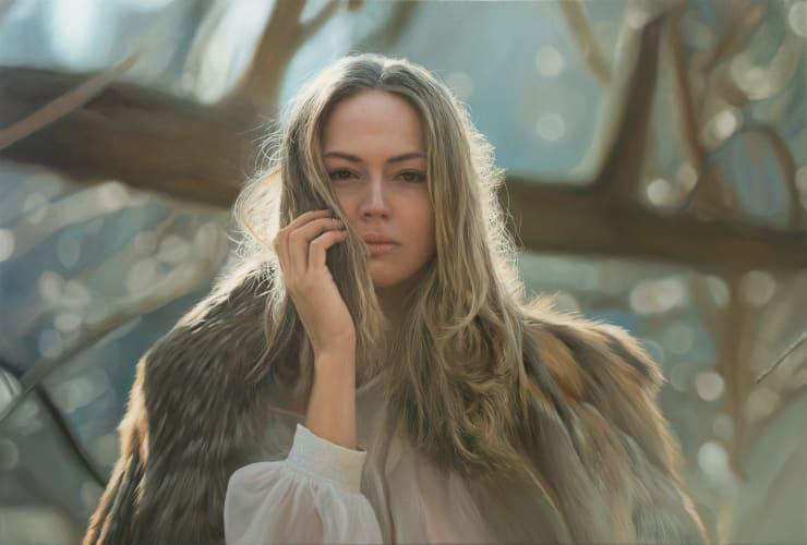 Yigal Ozeri Untitled; Zuzanna, 2019 Oil on canvas 91.4 x 137.2 cm 36 x 54 in