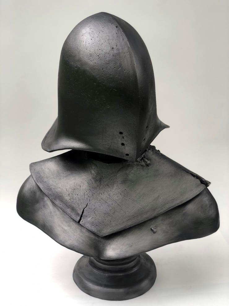 Emil Alzamora Warrior 5, 2019 Ceramic 57 x 41 x 23 cm 22.5 x 16 x 9 in